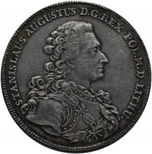 Stanisław A. Poniatowski, talar 1766, Warszawa, piękna gabinetowa patyna!