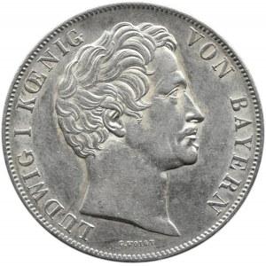 Niemcy, Bawaria, Ludwik I, 2 guldeny 1848, Monachium, piękne
