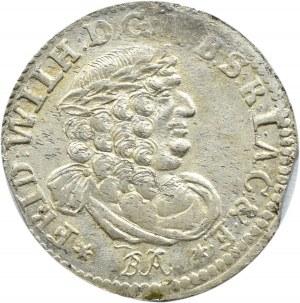 Niemcy, Prusy, Fryderyk II Wielki, szóstak 1686 BA, Królewiec