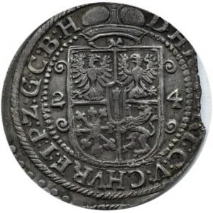 Niemcy, Prusy, Jerzy Wilhelm, ort 1624, Królewiec