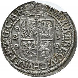 Niemcy, Prusy, Jerzy Wilhelm, ort 1623, Królewiec