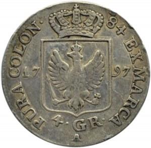 Niemcy, Prusy, 4 grosze 1797 A, Berlin