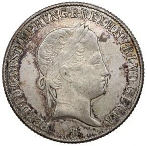 Hungary, Ferdinand I, 20 kreuzer 1842-B