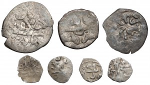Chanat Krymski, zestaw monet (7szt)