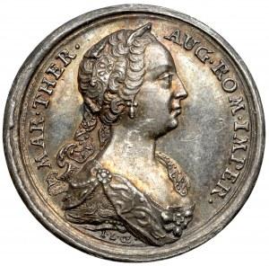 Austria, Maria Teresa, Żeton (1747) - trzecia ciąża cesarzowej