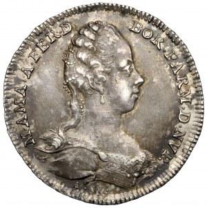 Austria, Maria Teresa, Żeton 1769 - ślub córki Marii Amalii