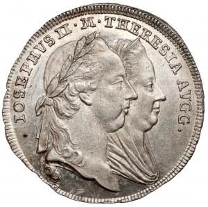 Austria, Józef II i Maria Teresa, Żeton 1773 - przyłączenie Galicji i Lodomerii