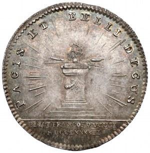 Austria, Franciszek II, Żeton koronacyjny 1792 (ø22mm) - na Cesarza Rzymskiego