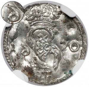 Zygmunt III Waza, Dwudenar Wilno 1620 - odwrócone 6 - menniczy