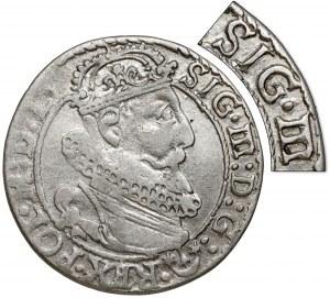 Zygmunt III Waza, Szóstak Kraków 1623 - SIG - b.rzadki