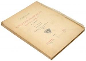 Catalogue de Monnaies Francaises Henri II a Henri IV, IIIe Partie, Paris 1929