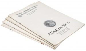 Katalogi aukcyjne WCN i PTN 1993-2000 (4szt)