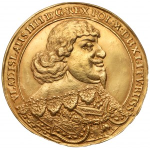 Władysław IV Waza, Donatywa medalowa 6-dukatowa - RZADKOŚĆ