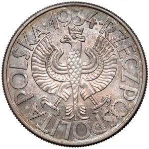 Próba 10 złotych 1934 KLAMRY - piękne