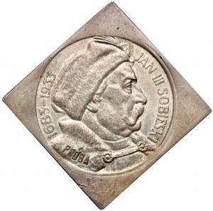 KLIPA próba 10 złotych 1933 Sobieski - PIĘKNA