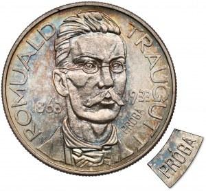 Próba 10 złotych 1933 Traugutt - piękna