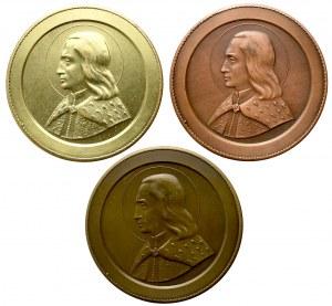Medale Wilno KS Polonia 1990 - 3 typy (3szt)