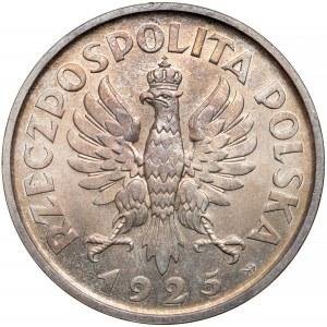 Konstytucja 5 złotych 1925 - 100 perełek - PIĘKNA i rzadka