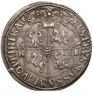 Stefan Batory, Talar Nagybanya 1586 NB - rzadki rok