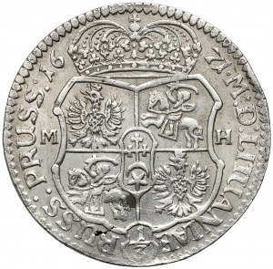 Michał Korybut Wiśniowiecki, Złotówka 1671, Bydgoszcz - RZADKOŚĆ
