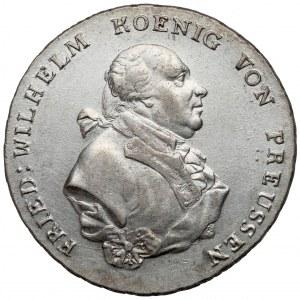 Śląsk, Fryderyk Wilhelm II, Talar 1796-B, Wrocław