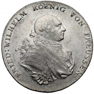 Śląsk, Fryderyk Wilhelm II, Talar 1790-B Wrocław
