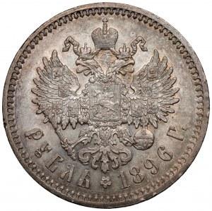 Rosja, Mikołaj II, Rubel 1896 ★, Paryż