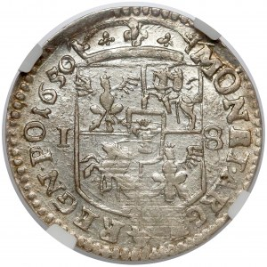 Jan II Kazimierz, Ort Wschowa 1650 - PIĘKNY