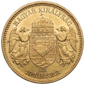 Hungary, Franz Joseph I, 10 korona 1893 KB