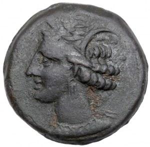 Grecja, Zeugitania Kartagina (300-264 p.n.e.) Brąz
