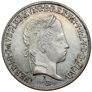 Hungary, Ferdinand I, 20 kreuzer 1847-B