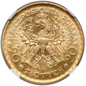 20 złotych 1925 Chrobry - piękne