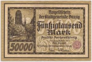 Gdańsk, 50.000 marek 1923