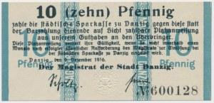 Gdańsk, 50 fenigów 1916