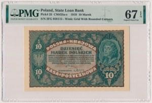 10 mkp 1919 - II Serja FG (Mił.25c)