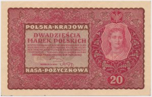 20 mkp 1919 - II Serja X