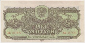 5 złotych 1944 ...owym - XK
