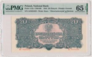 20 złotych 1944 ...owym - AO