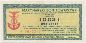 BALTONA 2 centy 1973 - A