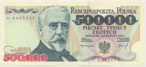 500.000 złotych 1993 - H