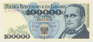 100.000 złotych 1990 - E