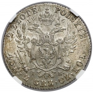 2 złote polskie 1816 IB - PIĘKNE