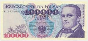 100.000 złotych 1993 - F