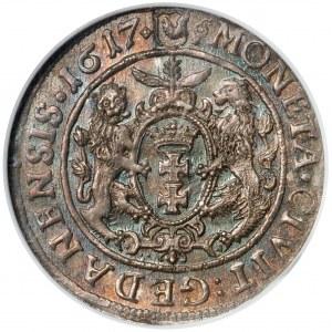 Zygmunt III Waza, Ort Gdańsk 1617 - PIĘKNY