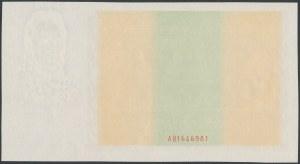 50 złotych 1936 Dąbrowski - AB - awers bez druku głównego