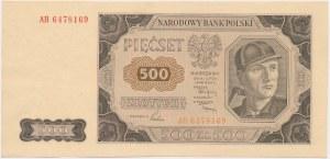 500 złotych 1948 - AH