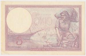 France, 5 Francs 1928