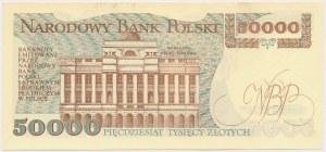 50.000 złotych 1989 - AM
