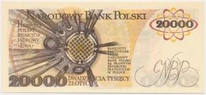 20.000 złotych 1989 - W