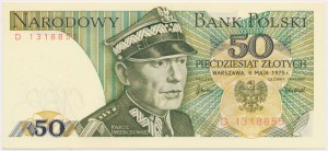 50 złotych 1975 - D
